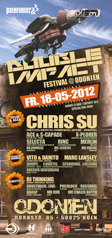 Flyer zum Event 2012-05-18-Pathfinder & Double Impact Festival